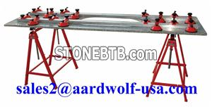 SINK HOLE SUPPORT SYSTEM - equipment tool machine stone granite marble, material handling
