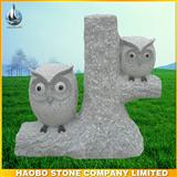 garden sculpture owl carvings with low price