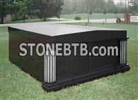 Haobo Stone Granite Double Crypt Private Mausoleums