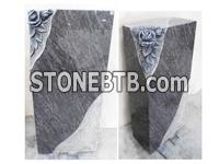 Haobo Stone Bahama Blue Granite Headstone And Memorials