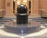 Black Granite Stone Fountain