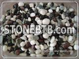 Natural color pebble stone