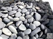 Natural river pebble stone