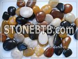 Polished pebble stone
