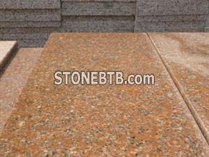 Wulian red granite G368