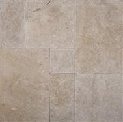 Cafe Light Tumbled Versailles Pattern Travertine