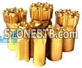Button bits / Tapered button bits / Thread button bits