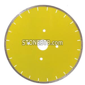 Nature Stone Silver Brazed Saw Blade for Marble