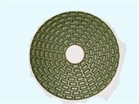 LD10127 Strip-shaped Dry Polishing Pad