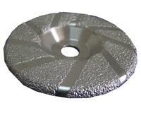 LD20223   Brazed Grinding Disk With Slots