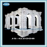 Carved Natural Stone Gazebo