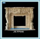 Natural Marble Fireplace Mantel