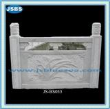 White Natural Marble Baluster and Railing