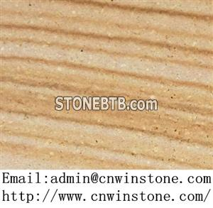China yellow sandstone for paving