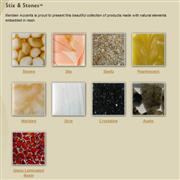 Stix and Stones Series - Glass Mosaic