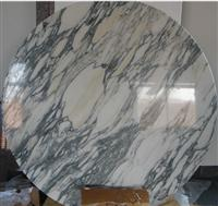 Carrara White Marble Table
