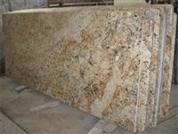 Crystal Yellow Granite Countertops