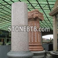 Red Granite Column