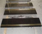 Shanxi Black Granite Stair Step With Gold Line
