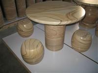 Sandstone Table,Sandstone Stool