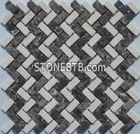 China Stone Mosaic, Granite Mosaic Tiles