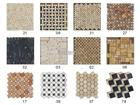 China Stone Granite Marble Mix-color Mosaic Tiles