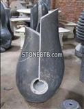 China Granite Black Artist Fountain