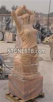 Artist Sculpture Granite Fountain