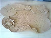 China Yellow Sandstone Tray