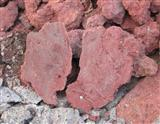 Red lava section