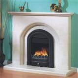 LB-25 Marble Fireplace