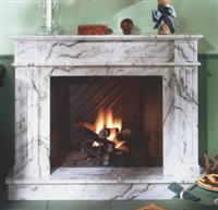 LB-28 Marble Fireplace