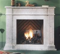 LB-29 Marble Fireplace