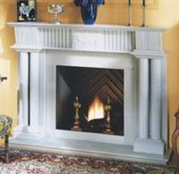 LB-26 Marble Fireplace