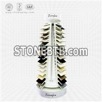 Quartz Stone Sample Display Tower,You Can Turn-SRL2012