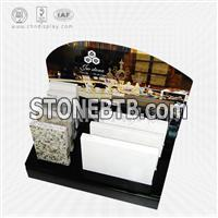 Artificial stone and granite countertops sample display rack-SRT2030