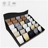 Acrylic quartz stone countertops display rack-SRT2023