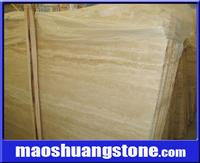 Light Yellow Travertine Slab