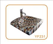 Mosaic Sink for Bathroom and Kitchen