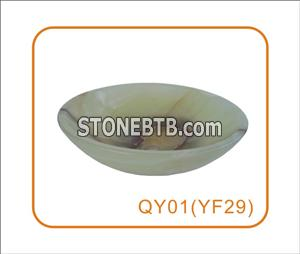 Round  Shape  Onyx Sink