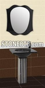 Bathroom Mosaic Basin Set