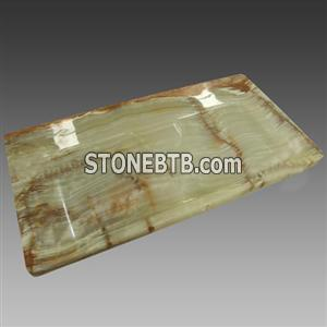 Beautiful Onyx Stone Teaset Tea Tray