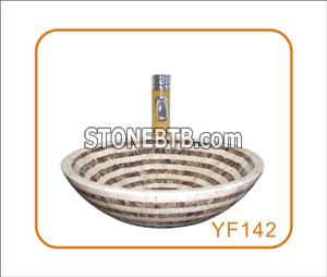 Mosaic Basin Bowl
