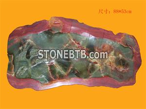 Special Shape Onyx Crafts Tea  Tray with Low Price