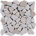 LIM003 pink crazy paving mosaic wall floor mosaic