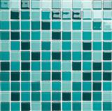 GL062 aquamarine mix crystal mosaic kitchen bathroom mosaic