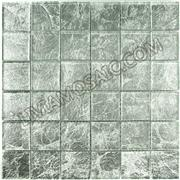 FP02 silver leaf glass mosaic foil mosaic bathroom mosaic lux feeling decorative mosaic