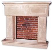 Artistic Marble Fireplace