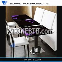 table and chair modern for restaurant,starbucks furniture table