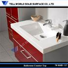 High quality wall hung vanity unit,stone sink